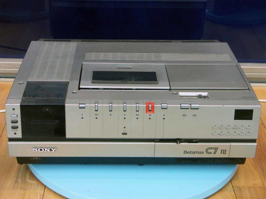 Magnétoscope Sony Betamax C7