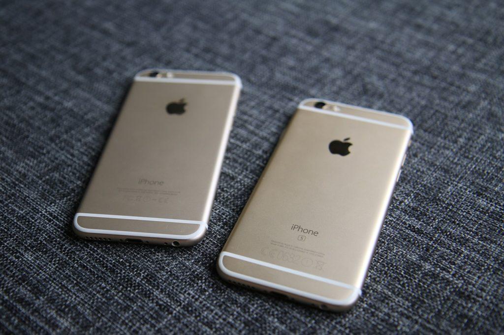 iPhone 6S et 6S Plus