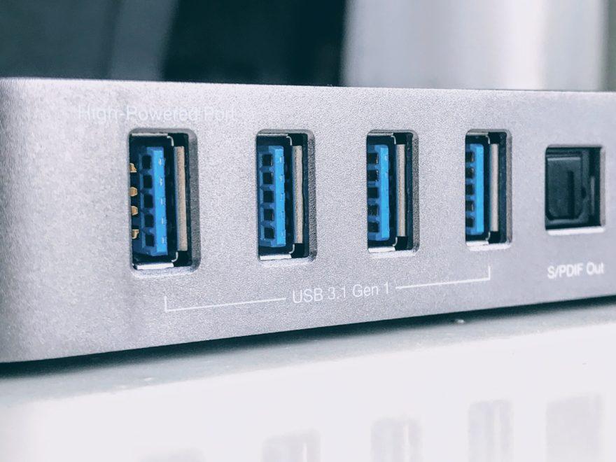 Des ports USB