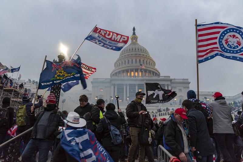 Émeutes au Capitole le 6 janvier 2021